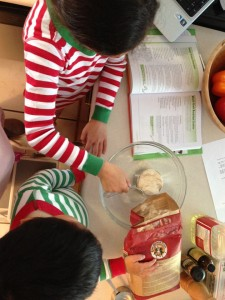 Cooking with Appetite for Life is a great family activity!