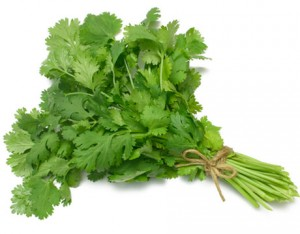 A bunch of fresh, delicious cilantro! (www.countryliving.com)